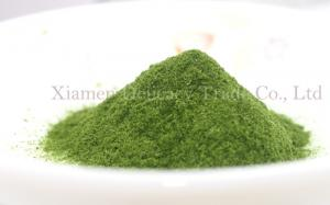 China Green Healthy Freeze Dried Food / Freeze Dryed Vegetable Spinach Powder 60 Mesh on sale