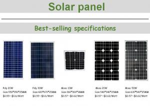 Quality Transparent Crystalline Solar Panels 320 Watt With Waterproof Junction Box for sale