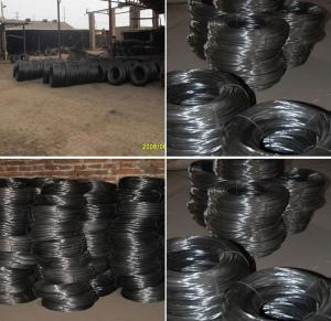 China Soft Black Annealed Wire Black Annealed Wire 1.1mm 1.2mm 1.6mm 2.0mm hot sale on sale