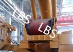 Electric / Hydraulic Crawler Crane Winch Crane Windlass Groove Drum