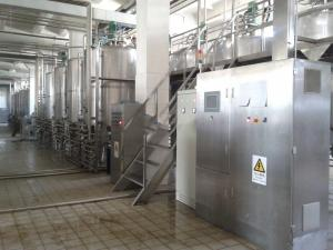 China Automatic  Fresh Condensed Milk Processing Line With Vacuum Package on sale
