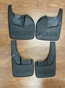 China Normal Size Toyota Hilux Revo Parts / Plastic Mud Flaps 2015 - Up Models Compatible on sale