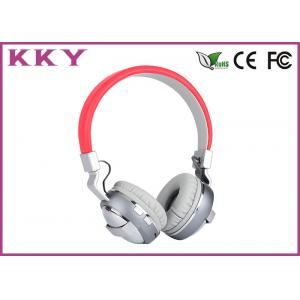 China Stereo Wireless Bluetooth Headset , Sound Cancelling Headphones Built In Microphone on sale