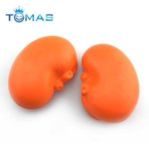 China Fun creative orange colored gifts pu balls decoration baby eva sponge educational kids toys for children gifts on sale