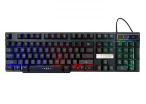 China Gk300 Laptop High End Gaming Keyboard , Glowing Gaming Light Up Keyboard on sale