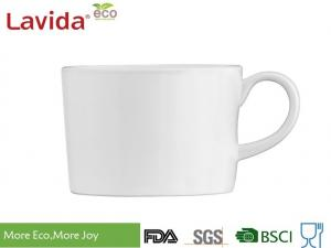 China 220ml Non - Toxic White Melamine Coffee Mugs , Heat Resistance Melamine Espresso Cups on sale