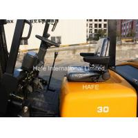 EPA Certificated 3T Warehouse Forklift With Isuzu Engine / Double Front Solide Tyre