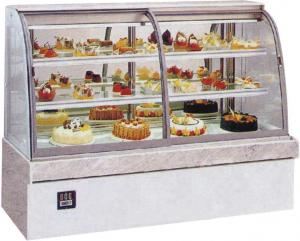 China Energy Saving Table Top Cake Showcase With Lcd Display Cabinet For Hotel on sale