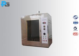 China IEC60695-2-20 Hot Wire Ignition Test Apparatus , Fire Hazard Testing Equipment on sale