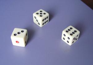 China Custom cheap personalized colored printed cool / gaming sets dice with customized logo on sale