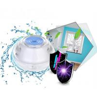 Portable 120mL Soft Warm Mist humidifier, 350mA 5V Crystal Nightlights Ultrasonic Humidifier for Air-conditioned Room