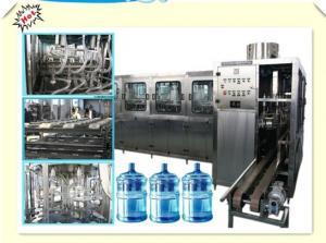 China PET a garrafa máquina de enchimento da água de 5 galões para a água mineral/água destilada on sale