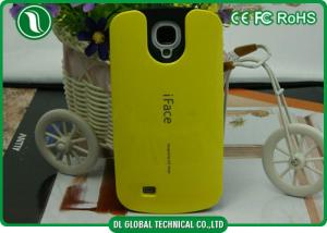 China Green / Blue TPU PC Phone Case Samsung Galaxy S4Protective Case on sale