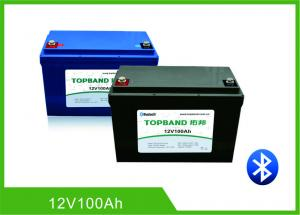 China Camper Van Motorhome RV Camper Battery12V 100AH Compatible With Most Inverters on sale