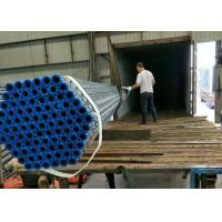 Hot Dipped Galvanised Iron ERW Steel Pipe , Galvanized Steel Tubes for building