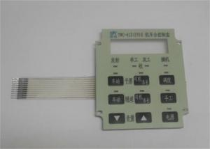 China Portable Silicone Rubber Membrane Switch Dull Polish For Computer Keyboard on sale