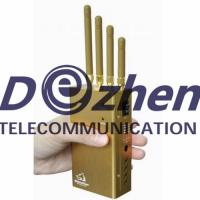 China Handheld GPS Jammer GPS L1/L2/L5 Signal Jammer and Lojack Jammer with Selectable Switch on sale
