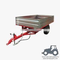 4TR2W - 2wheel dump trailer for tractor 4000kgs