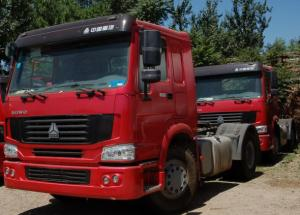 China Prime Mover Truck Tractor Commercial Mover Truck Big Heavy Tractor Hulage Truck Cargo Cum Crew on sale