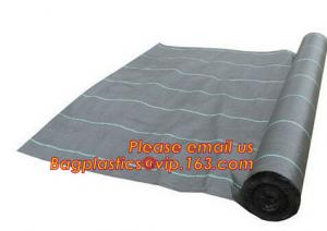 China weed control mat ,ground cover,silt fence selvedge, pp woven fabric roll low price ,black color,chinese wholesale manufa on sale