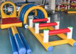 Outdoor Sport Inflatable Hurdles 4 Sets Series With Soft Protection