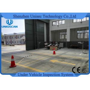 China Fixed Uvss Under Vehicle Surveillance System UV300F with High Speed Scanning on sale