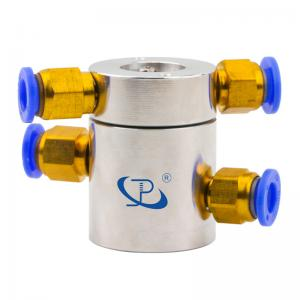 China Slip Ring of 2 Channels Rotary Union Routing Compressed Air with Extremely Low Torque supplier