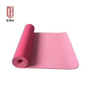 China Thickness 6mm Closed Cell Foam Eco Friendly Tpe Yoga Mat on sale
