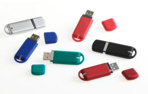 China Mini Plastic USB Flash Hard Drive / OTG USB Driver With Keyring on sale