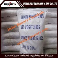 China sodium formate used in leather indsutry, snow melting agent, textile industry powder &granular on sale