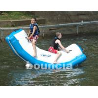 Inflatable Water Totter With Stainless Steel Anchor Rings For Kids