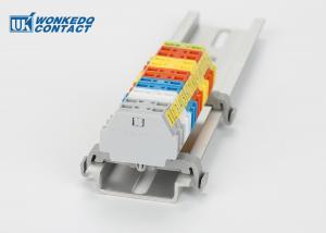 261-361B Strip Spring Clamp Terminal Block Connector Mini Rail With