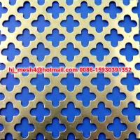 China 2015 new design decorative perforated sheet on sale