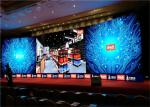SMD3528 P6 Indoor Led Screen / Concert Led Wall 192mm X 192mm Module Size