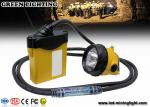 3W 800mA LED coal mining cap lamp , cable light color option with SAMSUNG battery pack