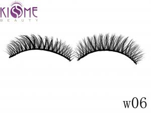China Strip 3D Faux Mink Eyelashes Feathery Looking 100 Siberian Mink Lashes on sale