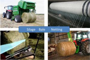 China Hay Warp Netting Silage Bale Wrap  Netting Bundle of Grass Netting on sale
