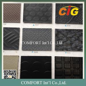 China Heavy Weight Thickness PVC Flooring Coin Mat Thick Non Woven Fabric Backing on sale