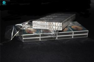 China 25 Micron Shrink PVC Packaging Film For Naked Cigarette Outer Box Wraper on sale
