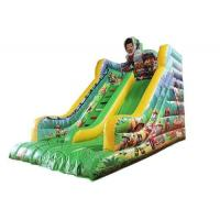 Amusement Park Toddler Inflatable Slide , Paw Patrol Theme Blow Up Slide