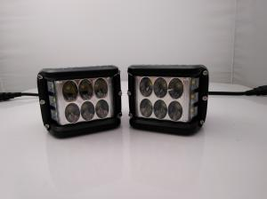 China 45W CREE LED Off Road Driving Light UTV RZR Truck Side Shot Pod Cubes For 4X4 Vehicle Jeep Wrangler Work Light on sale