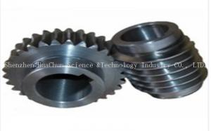 China CNC Machining Stainless Steel Worm Gear , Miniature Worm Gear Low Noise on sale