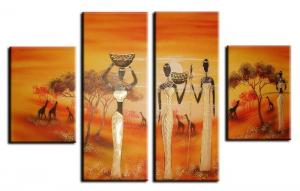 China Oil Painting Reproduction On Canvas Art--Abstract Painting Set By BBHYGALLERY on sale