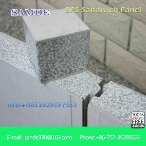 China Prefab building construction eco friendly wall lightweight building panel on sale