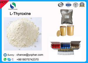 China China Supply Amino Acids Levothyroxine / L-Thyroxine/Levothyroxine Sodium CAS 51-48-9 For Treatment Of Thyroid Disease on sale