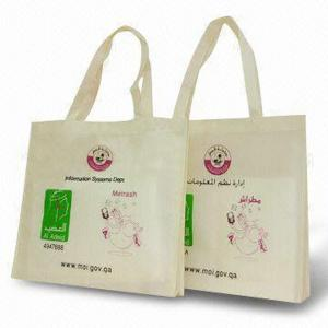 China 190T Polyester folding shopping bag on sale