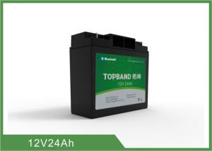 China Bluetooth 12V 24Ah Rechargeable Lifepo4 Battery Pack with Management System on sale