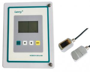 China Clamp On Doppler Ultrasonic Flow meter - Wall-mounted Type Liquid Measure on sale