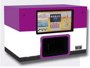 China 10.2'' LED Touch-Screen 12 Artificial Nail DIY digital nail art printer for sale on sale