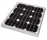 Anti - Pid Monocrystalline Silicon Solar Panels , 30w Waterproof Mono Pv Module